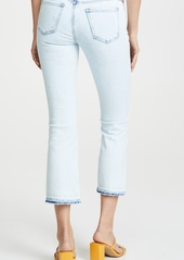 J Brand Selena Mid Rise Boot Crop Jeans