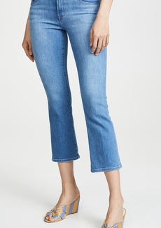 J Brand Selena Mid Rise Boot Cut Crop Jeans