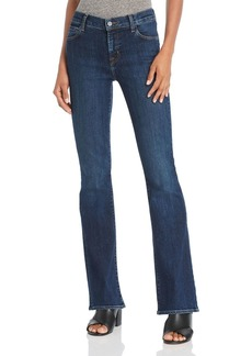 J Brand Sallie Mid Rise Bootcut Jeans in Reprise