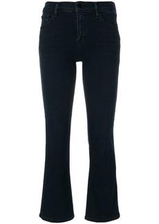 J Brand Selena mid rise crop bootcut jeans - Blue