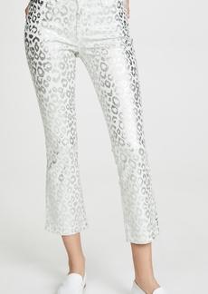 J Brand Selena Mid Rise Crop Bootcut Jeans