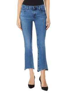 J Brand Selena Mid Rise Crop Bootcut Jeans in Earthy