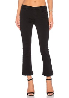 J Brand Selena Mid Rise Crop Flare. - size 27 (also in 24,25,26,28,29,30)