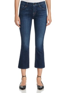 J Brand Selena Mid Rise Crop Jeans in Mesmeric
