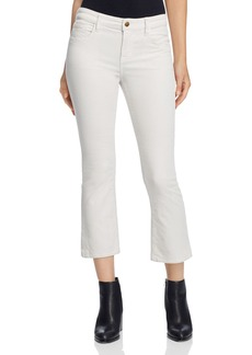 J Brand Selena Mid Rise Cropped Corduroy Pants