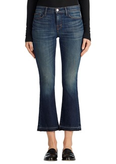 J Brand 'Selena' Released Hem Crop Bootcut Jeans (Undertow)