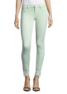 J BRAND Skinny Ankle Jeans/Aero Green