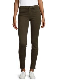 J BRAND Skinny Denim Pants/Olive