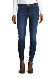 J BRAND Skinny-Fit Mid-Rise Denim Jeans