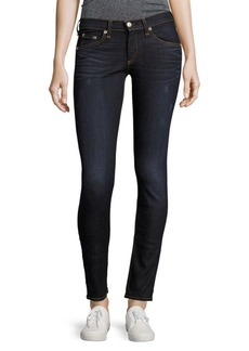 J BRAND Skinny-Fit Mid-Rise Jeans