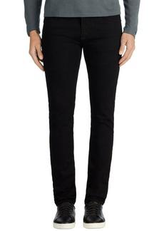 J Brand Mick Skinny Fit Jeans (Trivor Black)