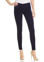 J Brand Skinny Velvet Jeans in Blue Iris