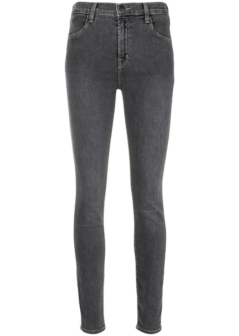 J Brand slim-fit faded jeans