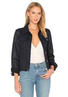 J Brand Slim Frayed Jacket. - size L (also in M,S,XS)
