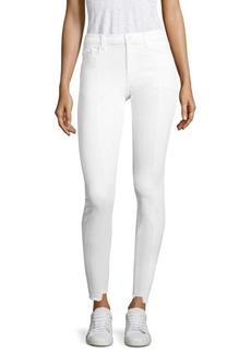 J BRAND Step Hem Pintuck Skinny Jeans