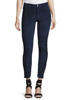 Suede Super-Skinny Pants