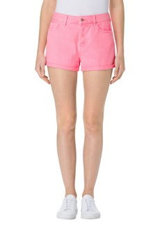 J Brand Sun Gracie High Waist Denim Shorts