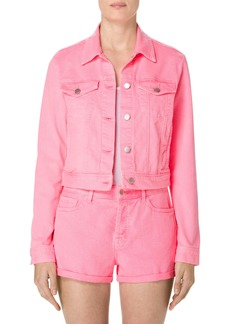 J Brand Sun Harlow Shrunken Denim Jacket