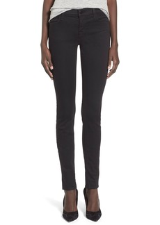 J Brand Super Skinny Jeans (Seriously Black)