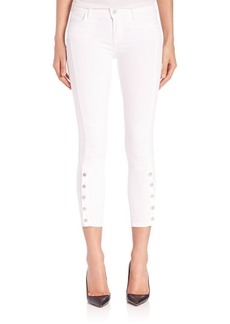 J Brand Suvi Photo Ready Cropped Skinny Jeans