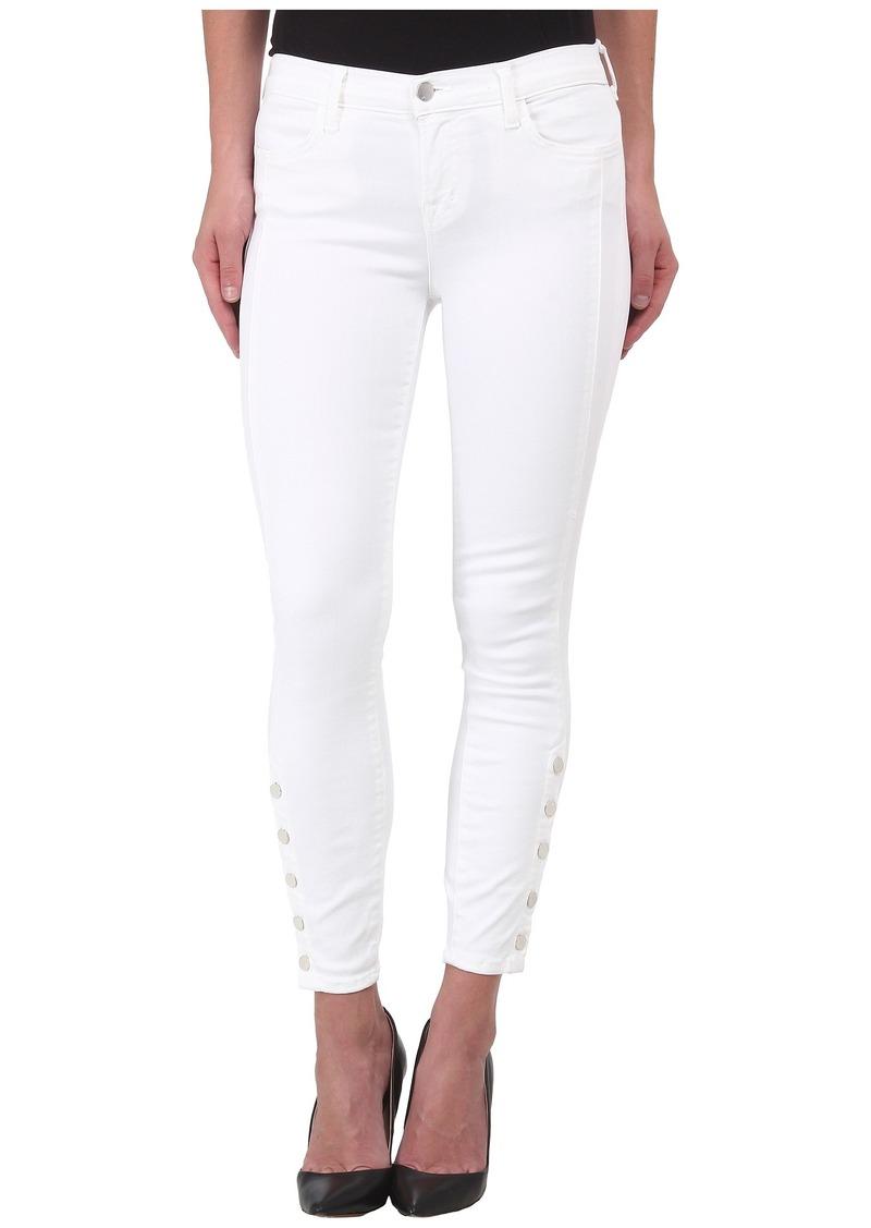 J Brand Suvi Utility Pants in White