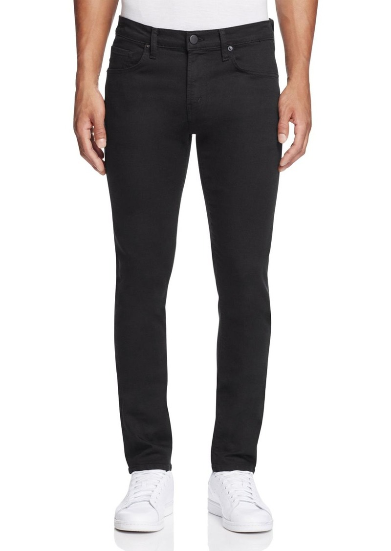 J Brand Tyler Taper Slim Fit Jeans in Seriously Black