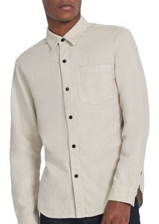 J Brand Tertium Woven Slim Fit Button Down Shirt