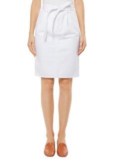 J Brand Tie Waist Denim Skirt