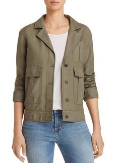 J Brand Tracy Utility Jacket