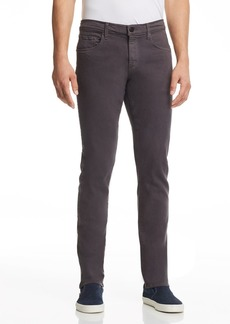 J Brand Tyler Slim Fit Jeans in Asphalt