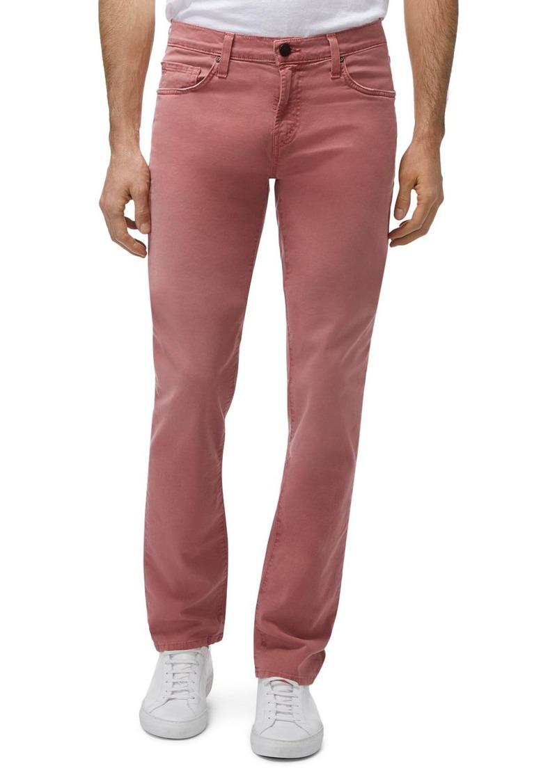J Brand Tyler Slim Fit Jeans in Beat Orah