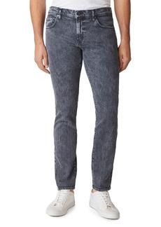 J Brand Tyler Slim Fit Jeans in Black Moon