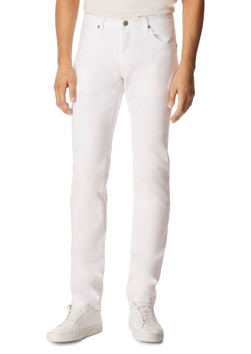 J Brand Tyler Slim Fit Jeans in White
