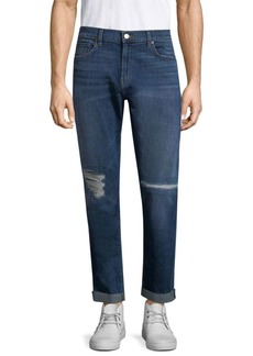 J Brand Tyler Tapered Distressed Slim Fit Jeans