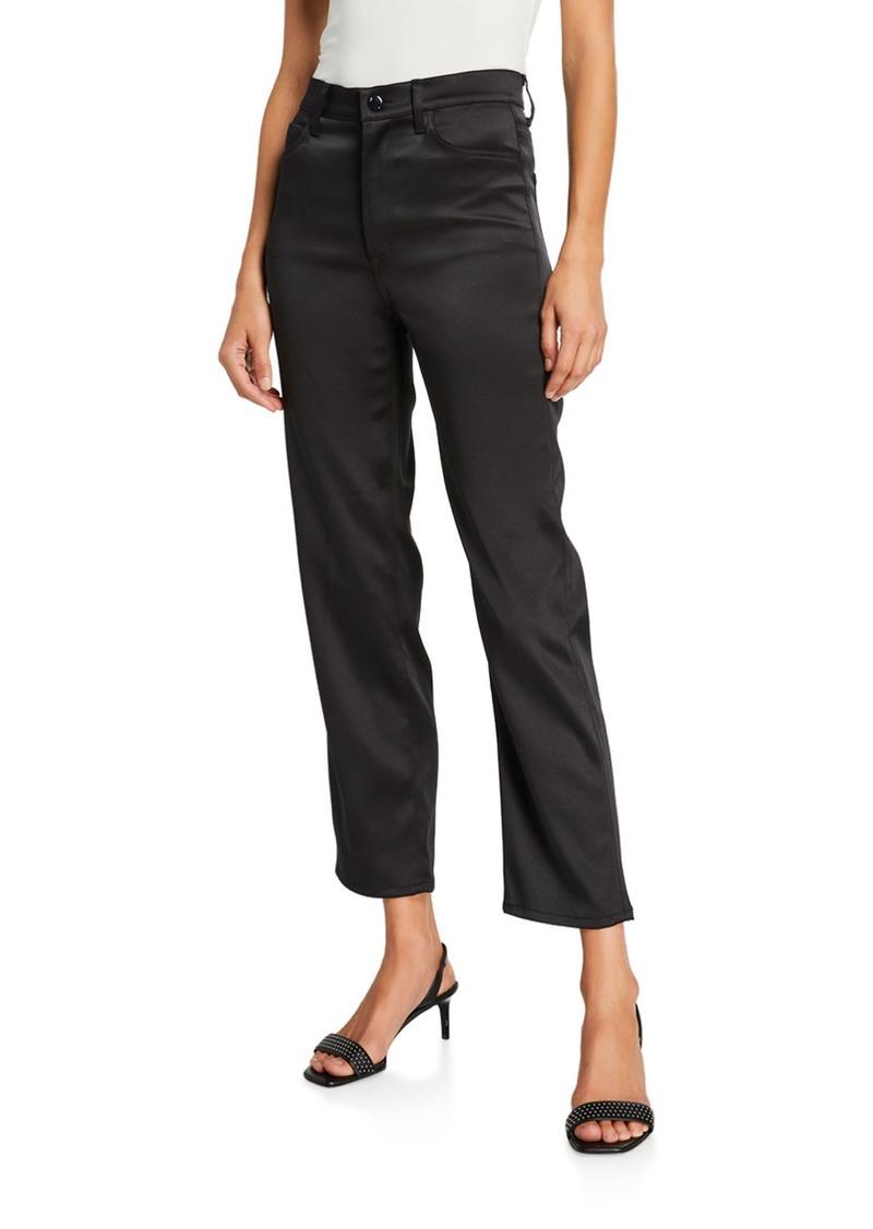 J Brand Valentina High-Rise Flare Pants