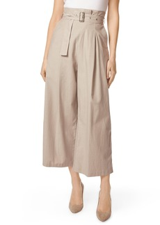 J Brand Via Pleat Front Wide Leg Pants