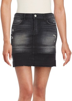 J BRAND Washed Pencil Denim Skirt