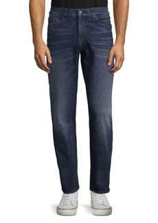 J Brand Washed Straight Jeans