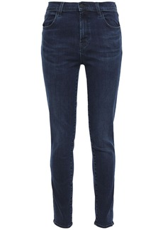 J Brand Woman 835 High-rise Skinny Jeans Midnight Blue