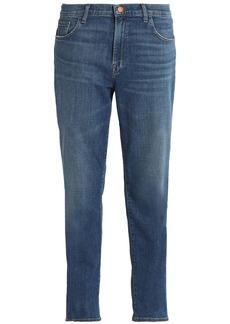 J Brand Woman Faded Slim Boyfriend Jeans Indigo