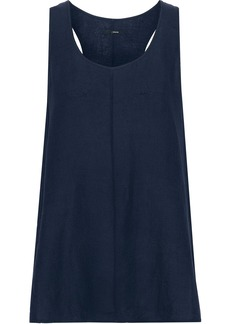 J Brand Woman Indy Gauze Tank Midnight Blue