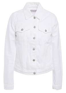 J Brand Woman Denim Jacket White