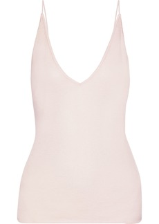 J Brand Woman Lucy Cashmere And Silk-blend Camisole Blush