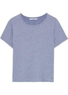 J Brand Woman Short Sleeved Top Light Blue