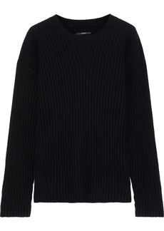J Brand Woman Tiffany Ribbed Cashmere Sweater Black