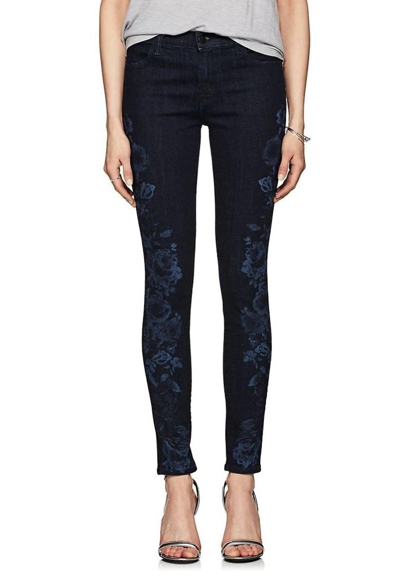 J Brand Women's 620 Mid-Rise Super Skinny Jeans