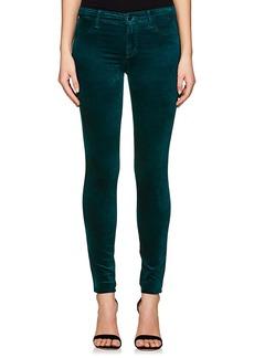 J Brand Women's 815 Velour Super Skinny Jeans