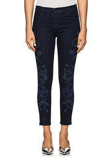 J Brand Women's Alana High-Rise Skinny Crop Jeans