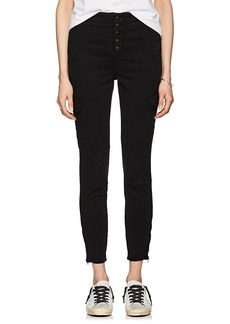 J Brand Women's Brigette Sky High Utility Cargo Jeans