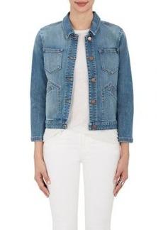 J Brand Women's Bright Side Denim Trucker Jacket